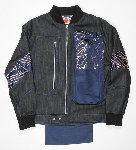 Osaka Obi Golden Bamboo Jacket