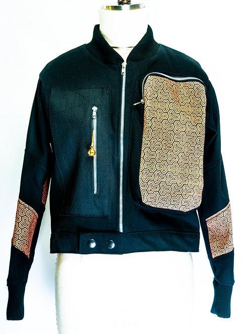 Uji Kitsune Ukiyo-e Jacket