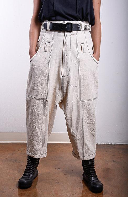 Hattorri Pants Natural (W)