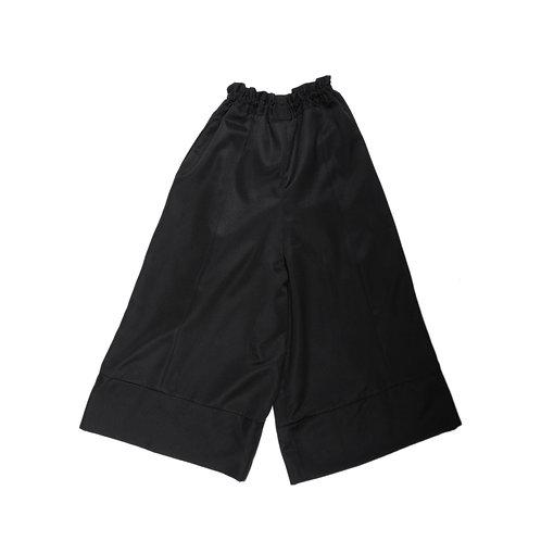 Black Modern Hakka Pants