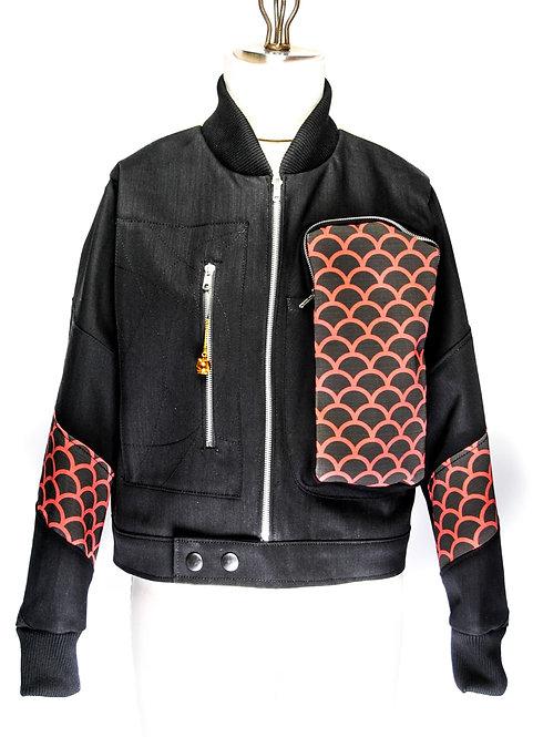 Uji Yoshitoshi Ukiyo-e Jacket