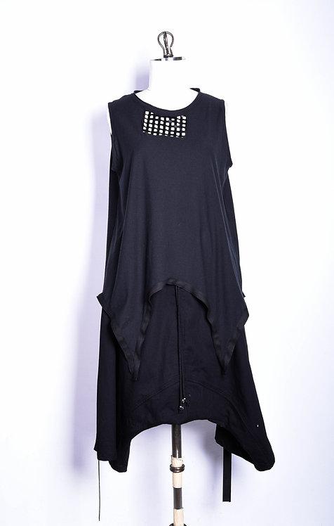 Tuchigomo Hibi Shirt Black
