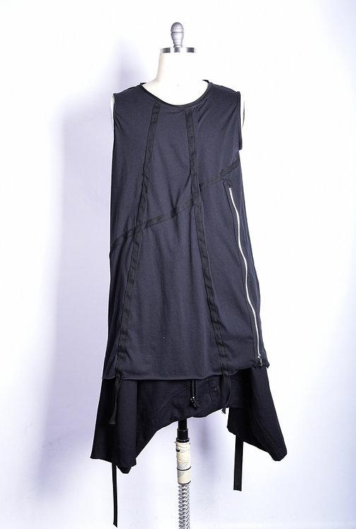 Ribbon Shirt Black