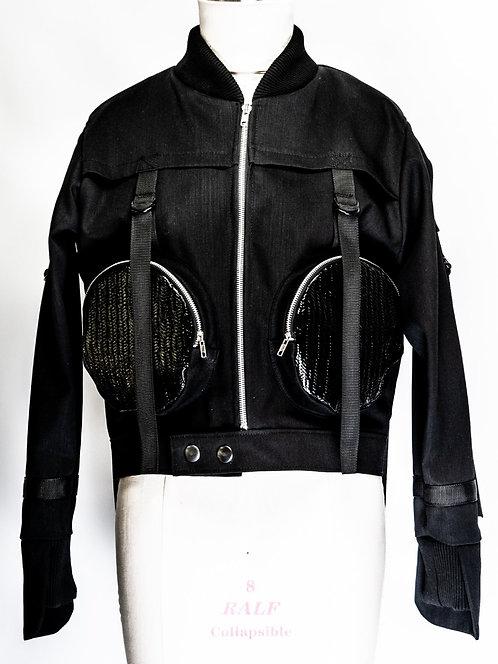 Uji Basket Woven PU Jacket