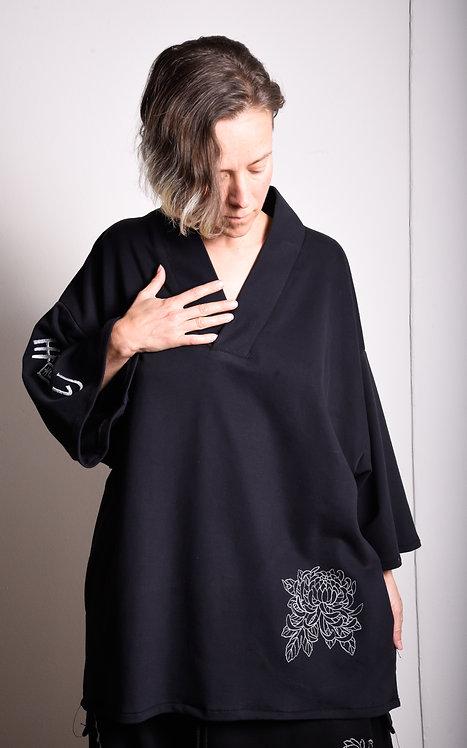 Tsubaki Shirt Black
