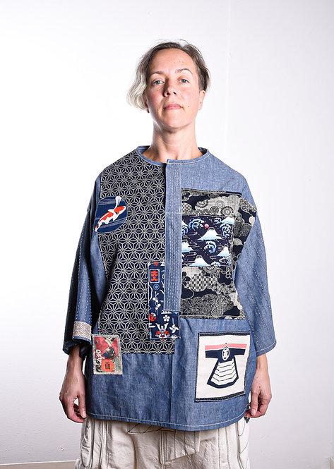 Boro Shirt Aoi (W)