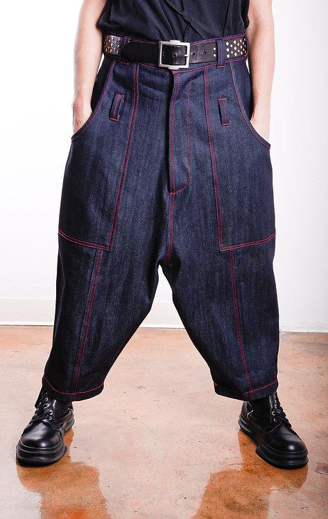 Hattori Pants Indigo/Aki (W)