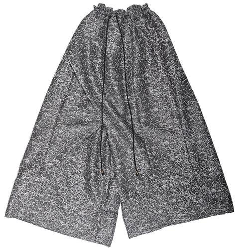 Silver Modern Hakka Pants