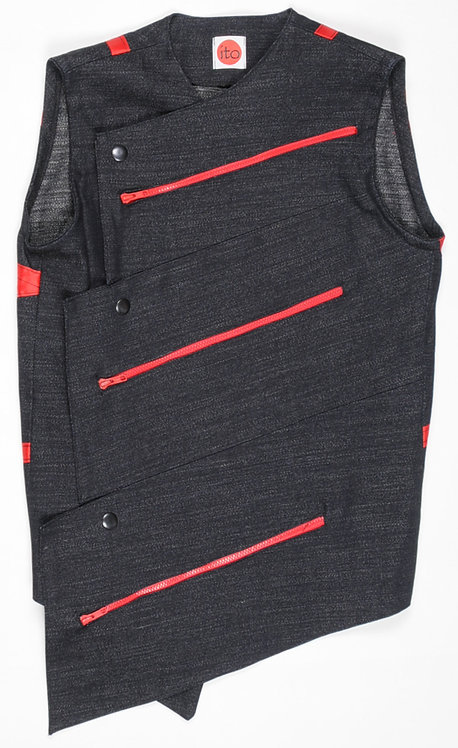 Red Triangle Vest