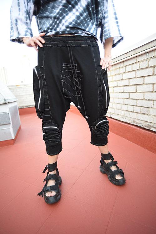 Horigen Slim Pants Black (W)