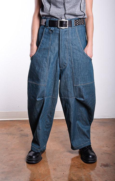 Shinjin Pants Steel Blue  (W)