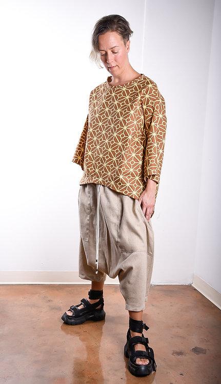 Shiho Pants Natural Linen