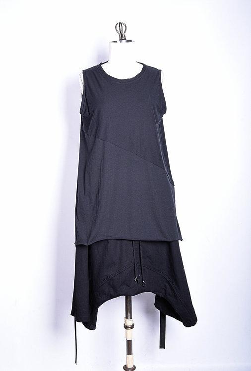 Asym Shirt Black