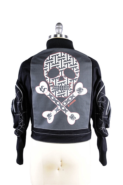 Shogun Onna Jacket Horigen Skull