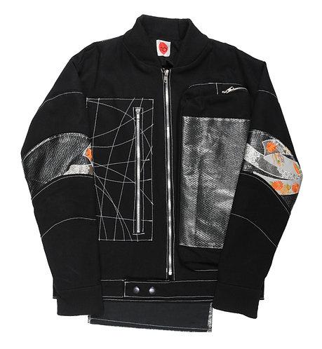 Silver Threads Osaka Obi Jacket
