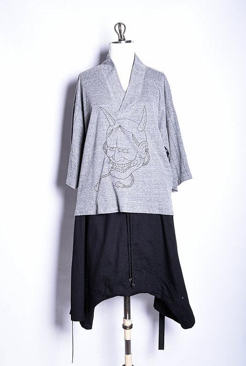 Jinbei Shirt Gray