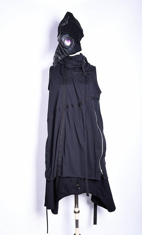 Ribbon Shirt Hydra Black