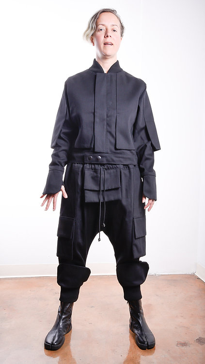 Shogun Pants Black/Black