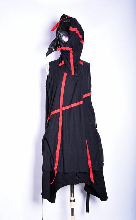 Ribbon Shirt Hydra Red