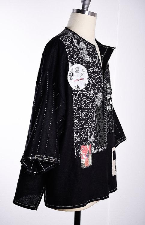 Boro Shirt Kudo Blk/Wht