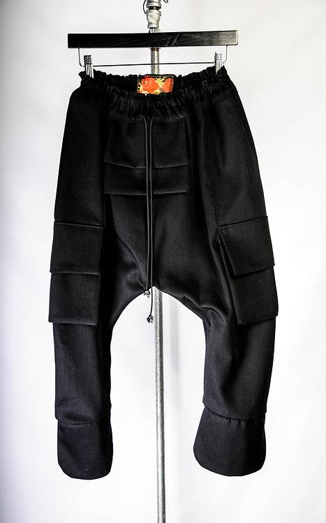 Shogun Pants, black/black