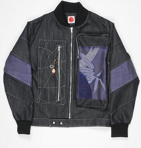 Osaka Ugi Obi Jacket