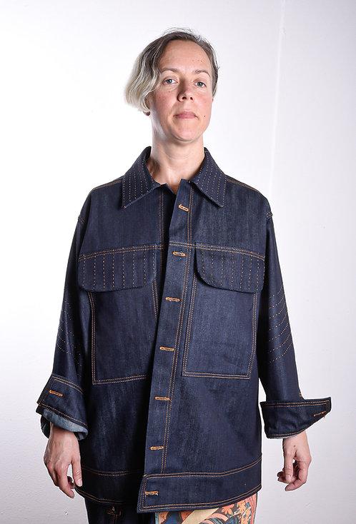 Azure Jacket Indigo(W)