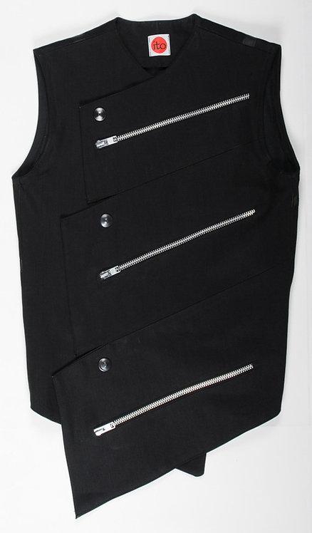 Black Triangle Vest