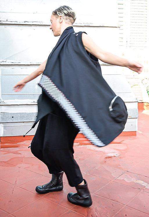 Chochosan OiOi/ Rumi Rock Neko Jacket Vest (W)