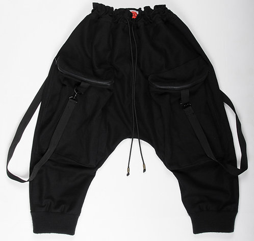Black Sutorito Pants