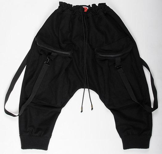 Black Sutorito Pants