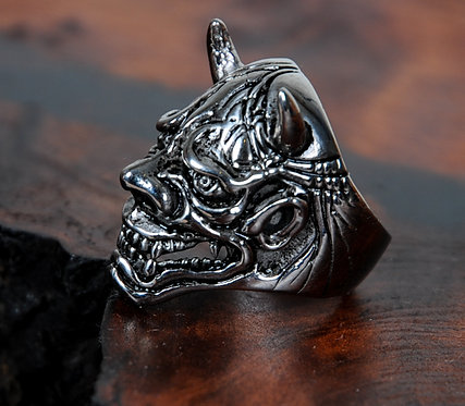 Oni Ring Silver