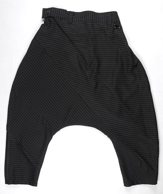 J-drop Pants banded stripe