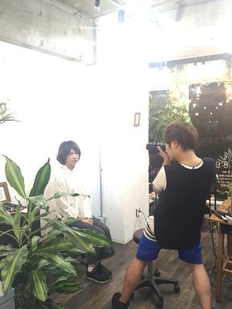 ヘアスタイル撮影(ボブ編)