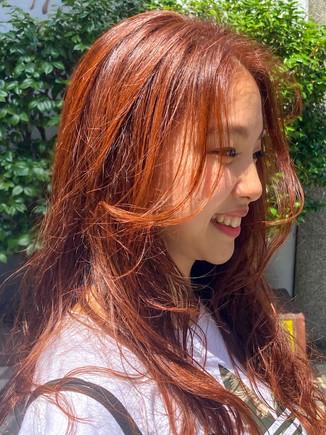 元気色  オレンジカラー