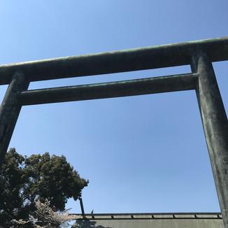 毎年恒例靖国神社