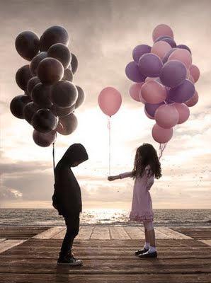 Awakening-Depressed-child-with-balloons.