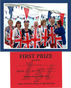 Potton Show first prize winners