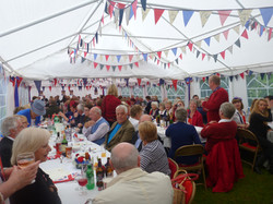 The Queen's Diamond Jubilee party