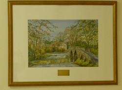 2011 Painting of Packhorse Bridge