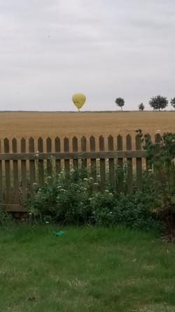 2017 Hot air balloon over Sutton