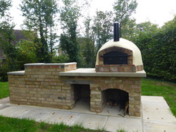 2017 new pizza oven and BBQ