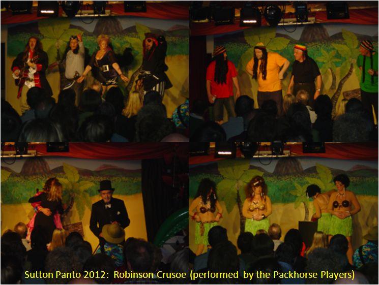 2012 Sutton Panto - Robinson Crusoe