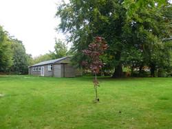 Sutton Village Hall garden