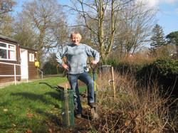 Feb 2021, fruit tree planting