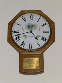 Sutton clock