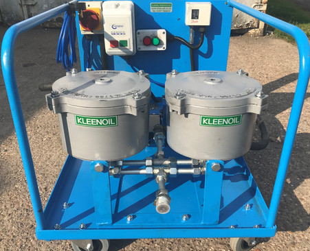 KLEENOIL Oil filter unit for oil cleanin