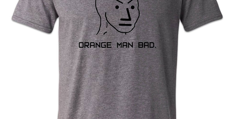 Orange Man Bad Liberal NPC