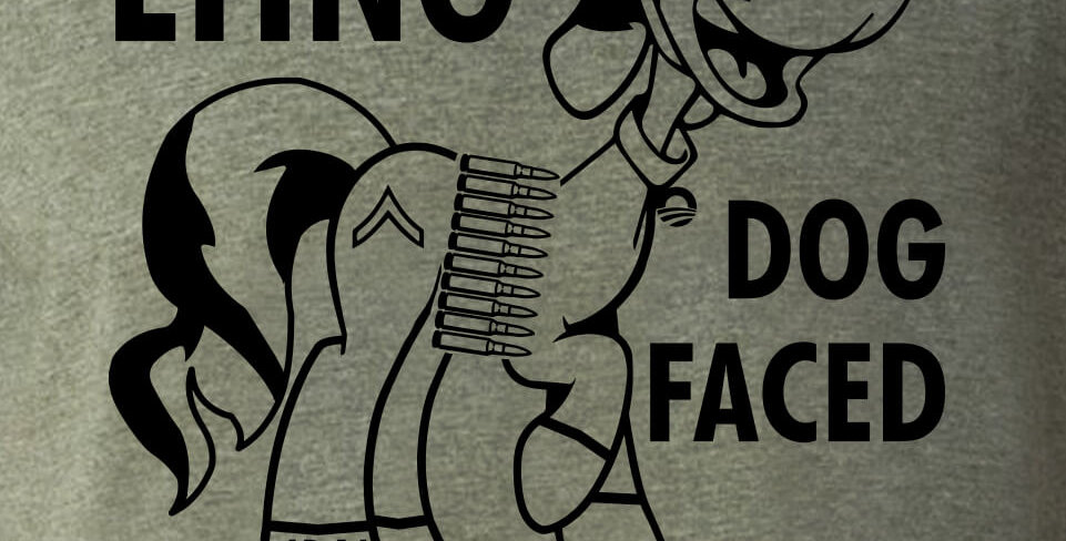 Lying Dog Faced Pony Soldier