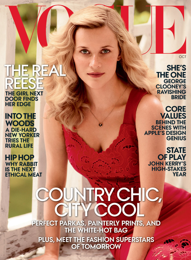 Reese Witherspoon VOGUE October 2014